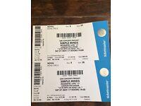 Simple Minds live at London Palladium Sat 27 May