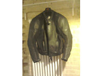 Men's BTS Motorcycle 2-piece motorcycle leathers.