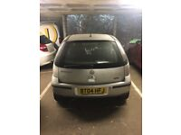 Silver Vauxhall Corsa - 2004 - To repair or for spares