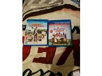 Blu ray furry vengeance and gnomeo and Juliet