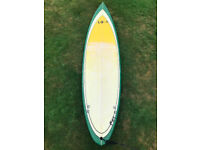 "Surfboard - Tiki Fatboy, 7ft 2"" - Like New"