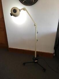 Vintage dental Examination Lamp Device Medical Mobile Daray