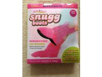 Microwaveable boots, one size, brand New