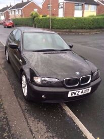 BMW 318i 2004 Black (10 month MOT) **Price Drop**