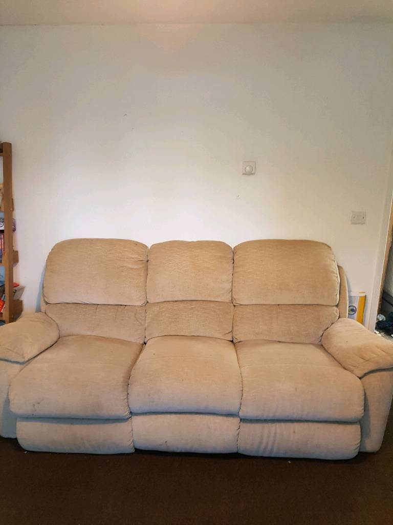 Sette and arm chair recliner