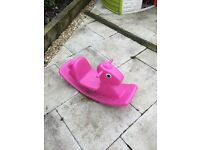 Little Tikes Pink See Saw