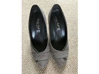 Leather Italian shoes - Lady soft, size 36