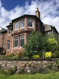 Short term gorgeous quiet flat with stunning views. Double room inc. bills.