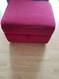 Storage box foot stool