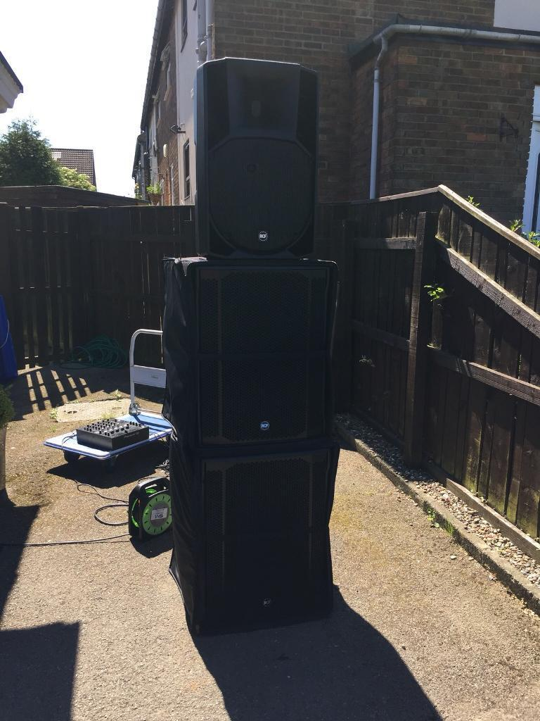 RCF 8003 AS II active subwoofers | in Brandon, County Durham | Gumtree