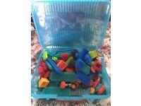 Stickle bricks
