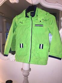 Boys Mayoral age 5 raincoat