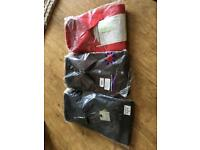 "3 x 17.5"" colour long sleeved shirts brand new"