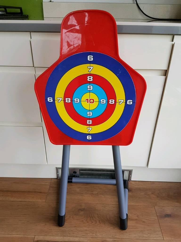 Child's plastic target