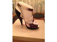 Faith high heeled new fashion shoes in original box