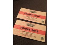 Goodwood Revival 2 x tickets Friday