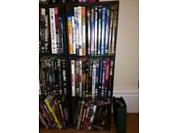 Bundle of dvd's, cd's and 4 box sets