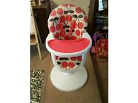 Cosatto 3Sixti Highchair Red Cherry Pop