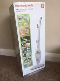 Morphy Richards 12in1 Steam Cleaner - Brand New
