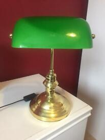 Bankers antique style Table Lamp