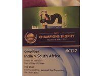India v South Africa 11th June
