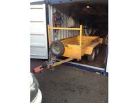 2.5 tonne plant trailer