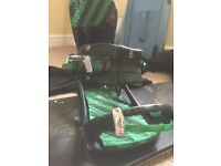 Large k2 snowboard bindings