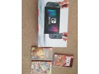 Nintendo switch plus 3 games. All boxed as good as new.