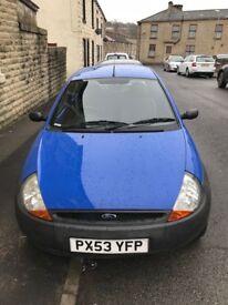 2003 Ford KA 1.3l Petrol 3dr