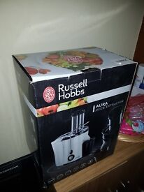 Russell Hobbs Aura Juice Extractor BNIB (Box has minor damage)
