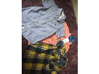 Boys shirts x3 one brand new with tags