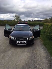 AUDI A4 2.0 tdi, Black , Great Condition, 6 Speed , Manual, MUST VIEW Price £2095.00