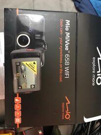 Mio MiVue 658 WiFi Dash Cam