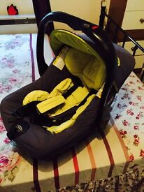 Baby Buggy from Jane with Car seat- Excellent piece of work- Really strong, Reliable and Comfy.