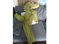 Smiffys crocodile fancy dress costume age 4-6years. Only worn 3 times in total.