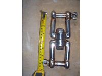 Marine Stainless swivel and shackle