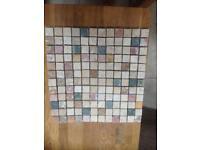 Mosaic mixed travertine tiles 300mm x 300mm Sheets
