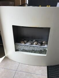 Contemporary electric fire