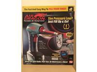 Brand new air dragon portable air compressor.