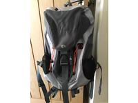 32 L Backpack, grey and black, as new condition.