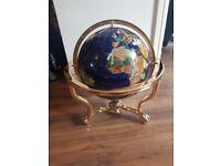 Ornamental Gemstone Globe