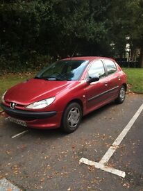 PEUGEOT 206 FOR SALE GREAT CONDTION