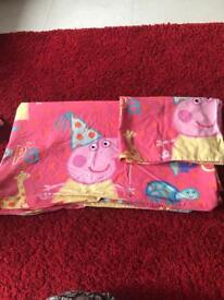Peppa pig junior bed cover