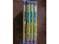 Family Guy DVD's boxed Season 3 x 3 DVD's and 1 from Season 1