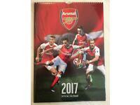 Official 2017 Arsenal Calendar - A3