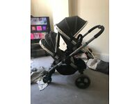 Immaculate icandy peach 3 double pram