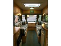 2003 Abbey Vogue GTS 215, 2 Berth, Single Axle Caravan