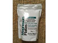 Brand new & sealed Magnesium Flakes; 1kg bag x 3