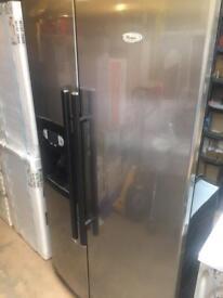 Whirlpool American style fridge freezer spares or repairs