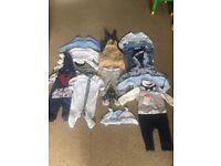 3-6 Months Boys clothes 21 item bundle